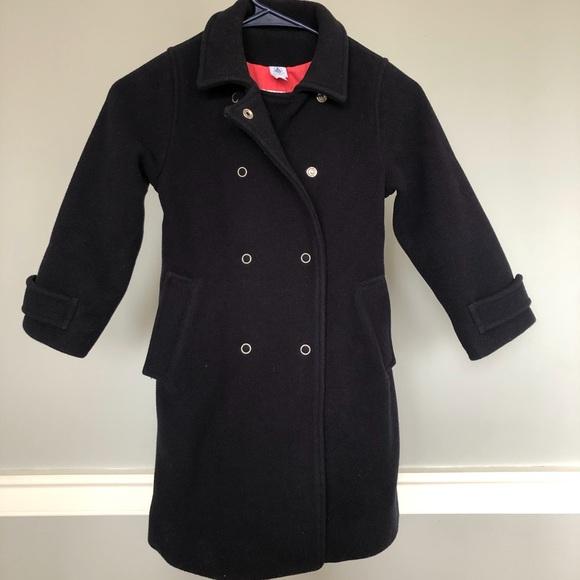 Girls wool coat